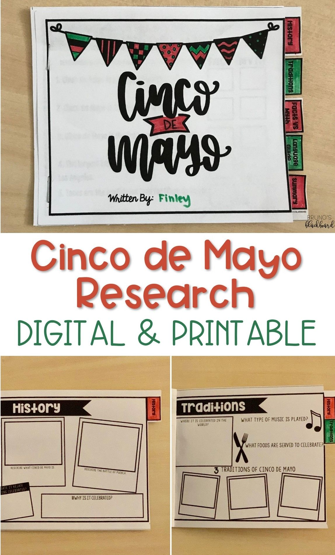 Cinco De Mayo Research Activity Report