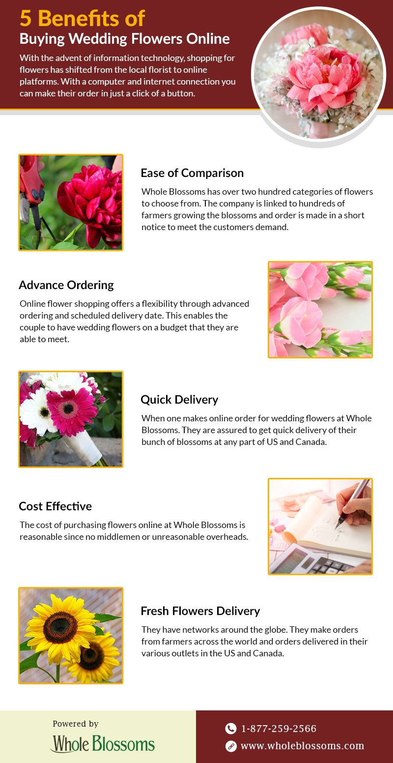 Whole Blossoms Is Online Flower Specialist That Has Thousands Of