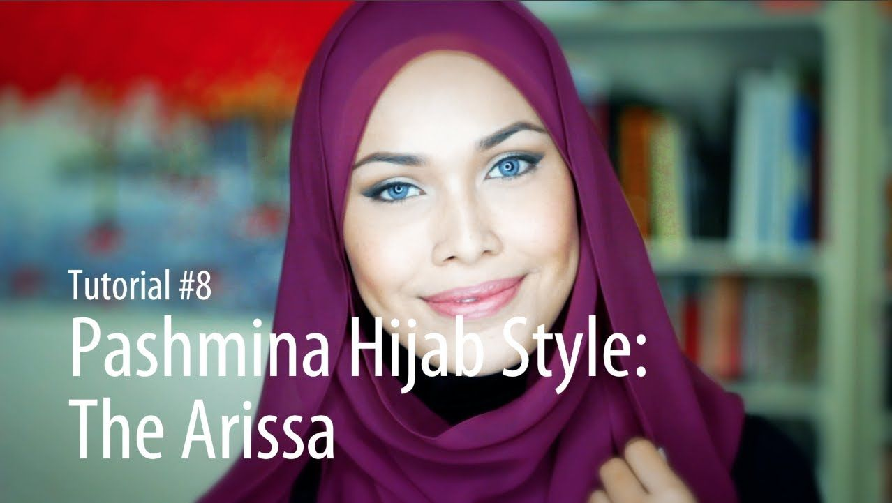 Adlina Anis Hijab Tutorial 8 The Arissa Hijab Tutorial