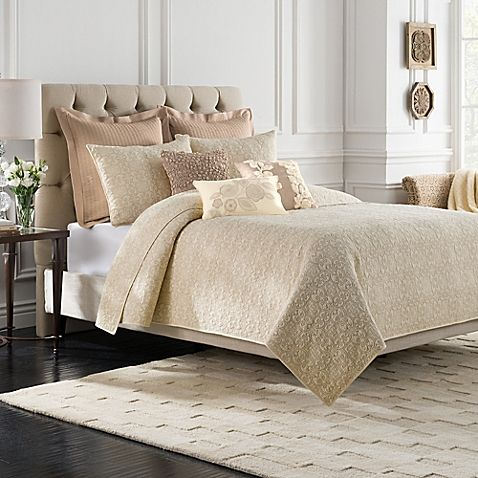 Bridge Street Sonoma Quilt in Ivory | Queen quilt, Bedrooms and ... : ivory king quilt - Adamdwight.com