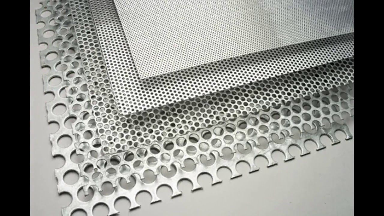 Round Perforation Sheets Perforated Metal Mesh Hexagonal Round Aluminum Sheet Metal Perforated Metal Metal Mesh Screen
