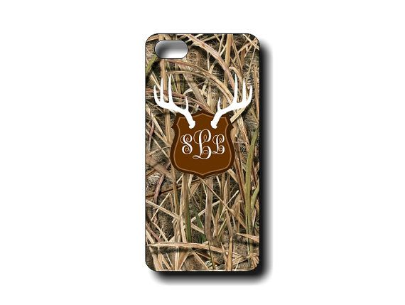 This awesome iphone case is designed by Lazy Dog Concepts for the Real Camo lover! This is our regular mossy camo with antler mount. If you like our regular case, this is it, just with antlers added! It's an awesome addition to an already awesome case! You can customize this several ways or just order as seen in the picture with your monogram or name! #realcamo #antlers #deerantlers #hunting