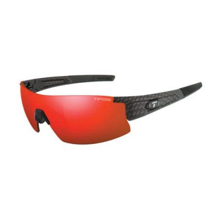 Escalate S.F.H., Matte Carbon Tifosi Pro Sunglasses Smoke,Clear,Ac Red,Clarion Red