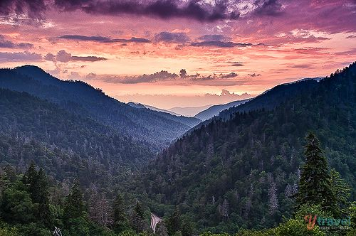 Great Smoky Mountains, Tennessee - Visit USA: http://www.ytravelblog.com/visit-usa/
