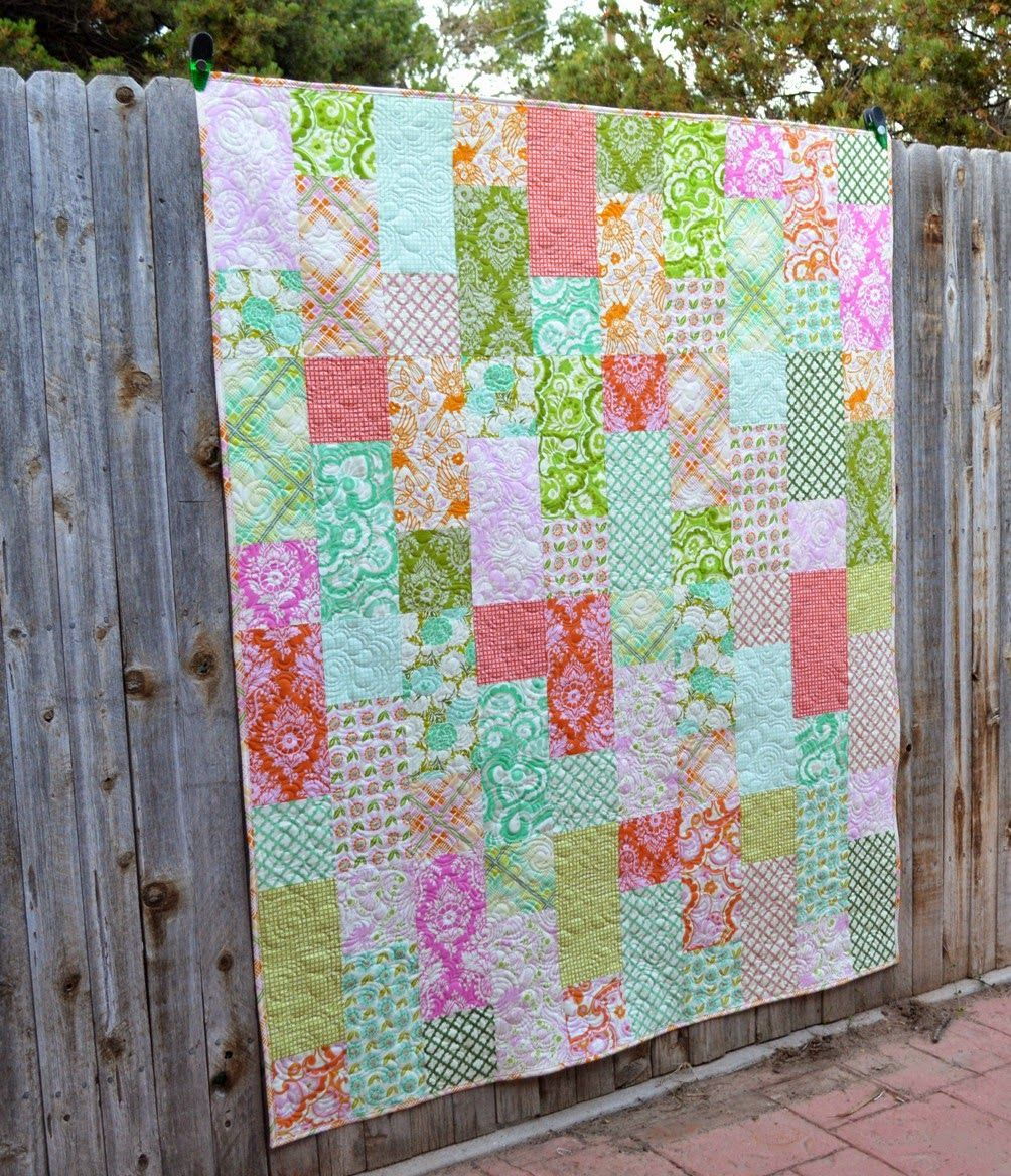 Happy Quilting: Fat Quarter Fizz!! Free pattern at the http://www ... : easy quilt patterns using fat quarters - Adamdwight.com