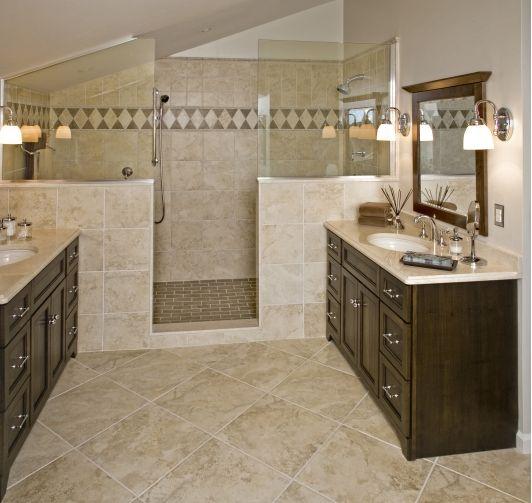 American Traditional Master Bath Design: Hatboro, PA - Home ...
