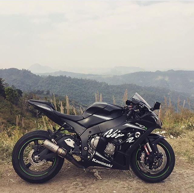 Kawasaki Ninja Zx10r Black Motorcycles Ninja Motorcycle