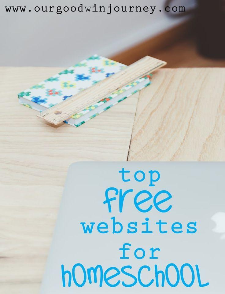 Homeschool websites free resources for homeschooling