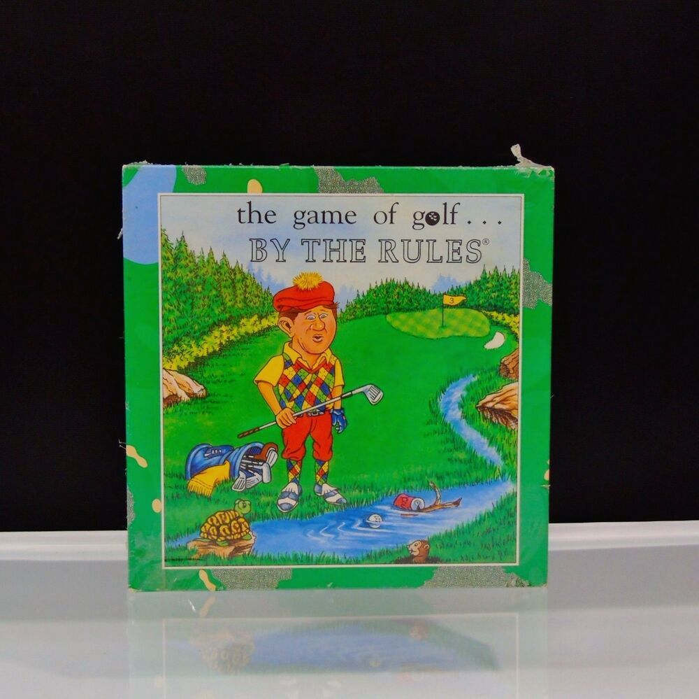 Game Of Golf By The Rules 1993 Trinity Games Made In Usa Educate