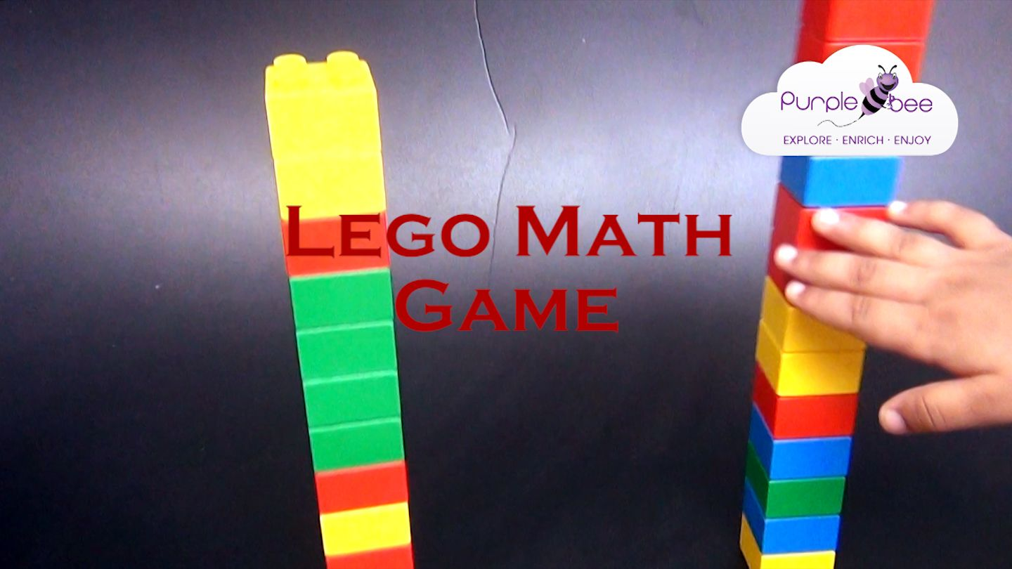 Lego Math Game For Your Kid Teach Math With This Simple