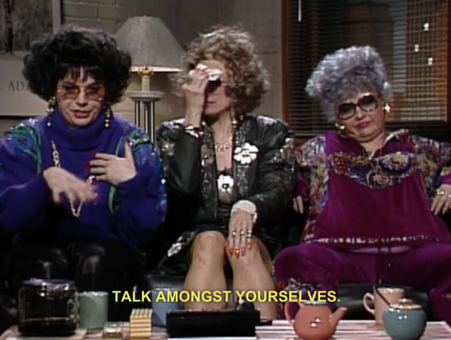 Coffee Talk: Liz Rosenberg and Barbara Streisand - SNL ...