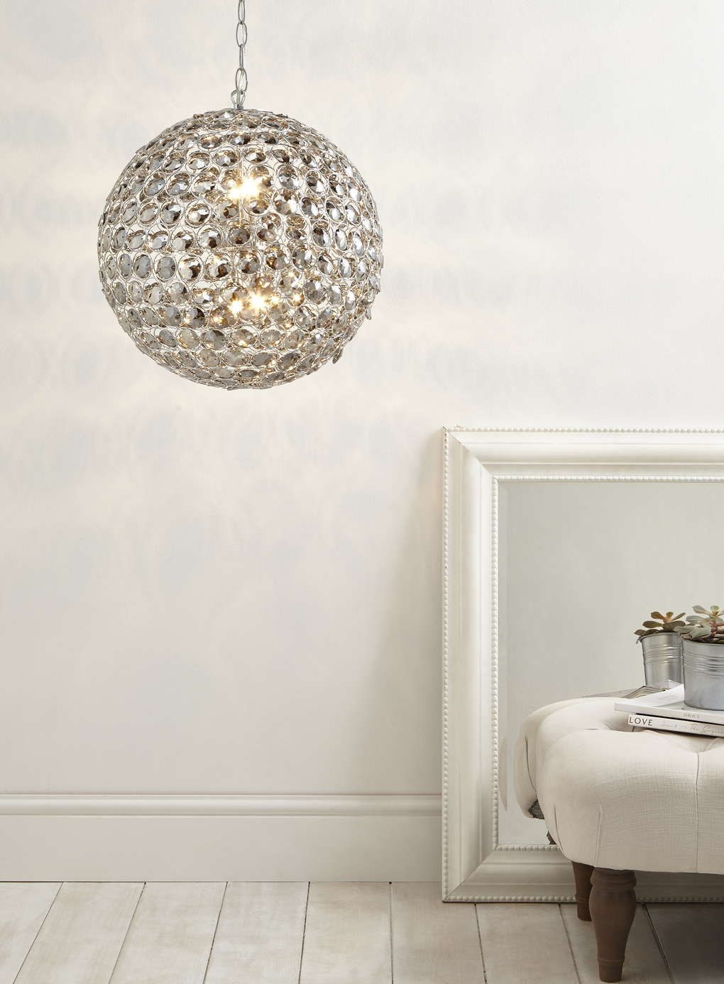 Smoke Pearl Chandelier Pendant - Ceiling Lights - Home, Lighting ...