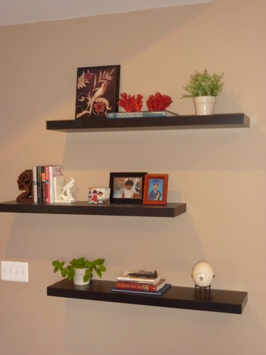 Beau How To Decorate Around A TV With Floating Shelves
