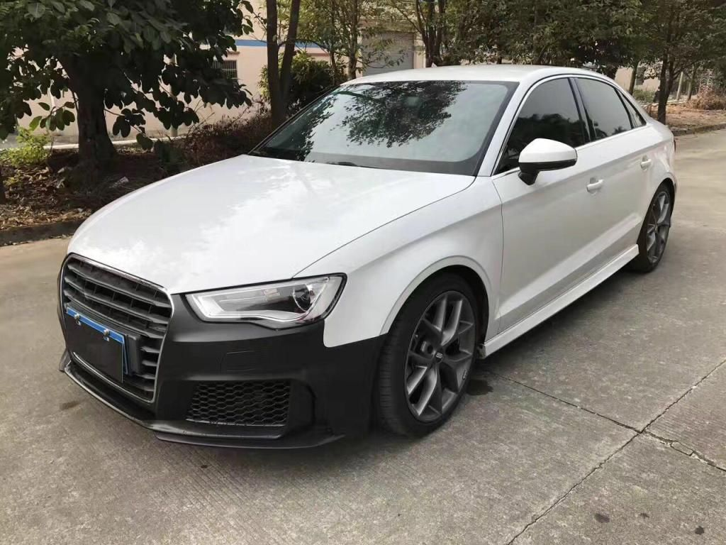 pp material rs3 style body kit a3 to rs3 bodykits for audi. Black Bedroom Furniture Sets. Home Design Ideas