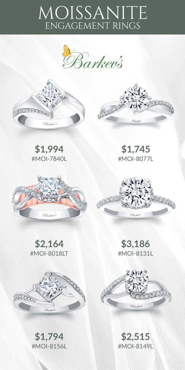 ed4d7e4df32 Checkout our stunning collection of Moissanite and Diamond Engagement Rings.  Beautiful unique styles that will sure capture the eyes of many!