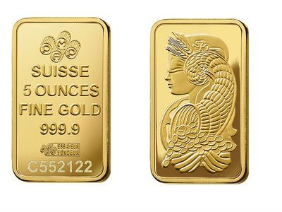 Pamp Gold Five Ounce Bar Gold Bullion Coins Gold Bullion Gold Bullion Bars