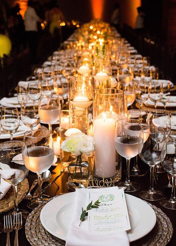 Centros de mesa para boda econ micos y originales con - Centros de mesa elegantes ...
