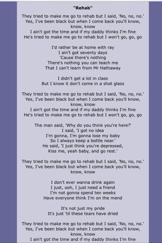 Amy Winehouse Song Lyric Quotes Song Lyrics Song Quotes