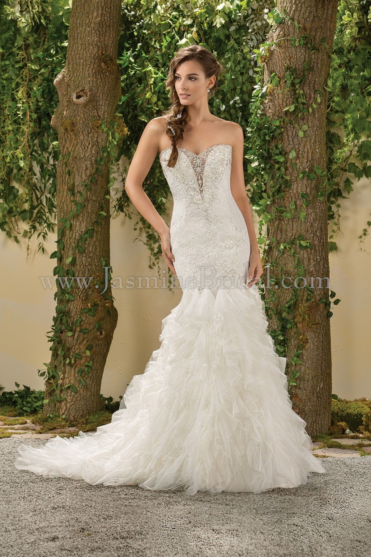 Jasmine bridal collection style f in ivory spring