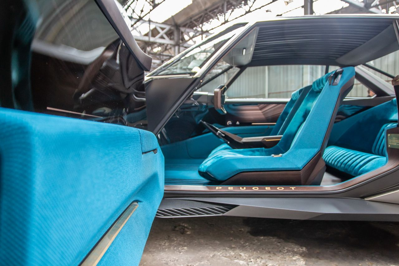 E Legend Concept La Nouvelle 504 Par Peugeot Concept Cars
