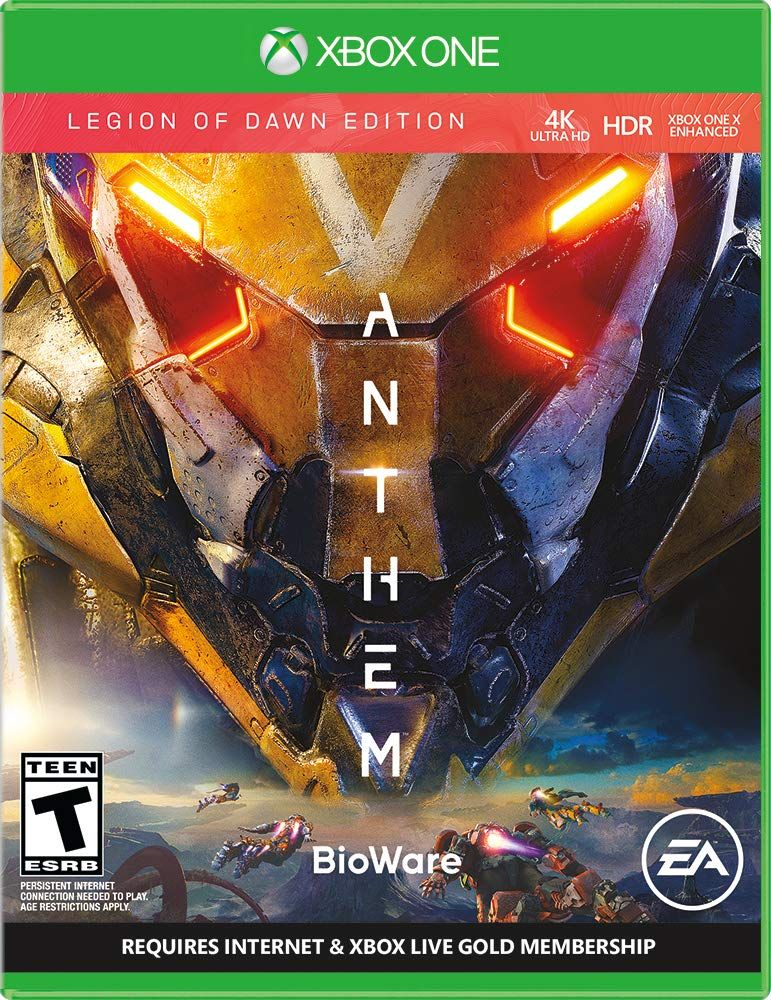 Anthem Legion of Dawn Edition Anthem game, Anthem ps4