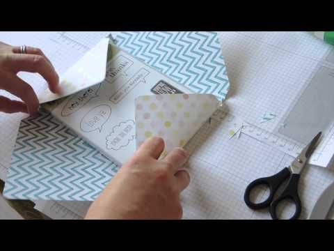 Stampin' Up! Envelope Punch Board DVD Holder Tutorial