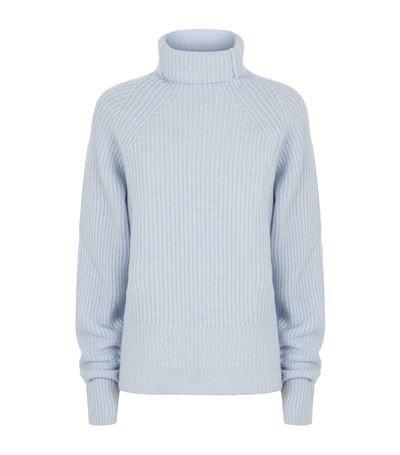 5720d962dd8f8b MAJE Knitted Roll Neck Jumper.  maje  cloth