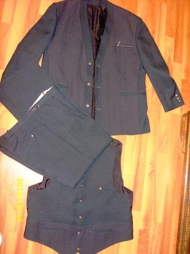Garnitur Meski Komplet Marynarka Kamizelka Spodnie Women S Blazer Blazer Fashion