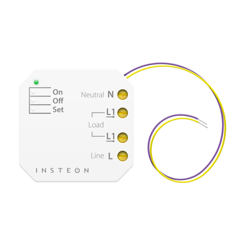 For Wiring Up A Smart Home With Antique Switches On Off Module Insteon Micro On Off Adding Home Control To An Dimmer Dimmer Switch Home Automation