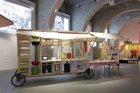 Food Inspiration Expo Ma Cantine En Ville Non Les Food Trucks Nont Pas Le Monopole De La Cuisine Mobile Mobile Architecture Design Furniture