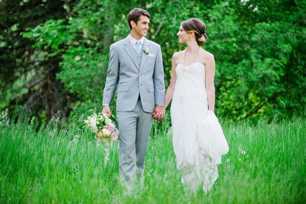 Utah Summer Wedding Photo Shoot