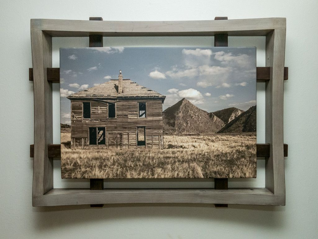 Media Frame One 20x30 Art - Grey / Rust | Rust, Frames ideas and Gray