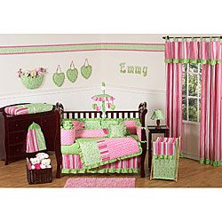 @Overstock - This nine-piece baby bedding set by JoJo Designs will help you create a stunning room for your child. This set will fit all standard cribs and toddler beds, and is machine washable for easy care and repeated use.http://www.overstock.com/Baby/Olivia-9-piece-Crib-Bedding-Set/5735489/product.html?CID=214117 $229.99
