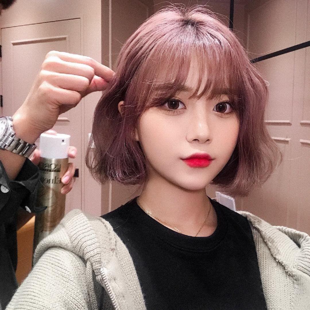 Épinglé par Rj sur Beautiful Cheveux courts coréens