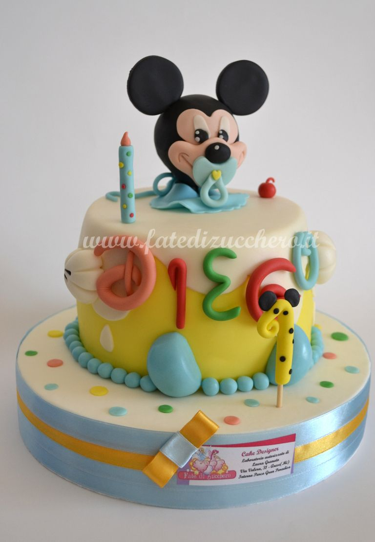 decorazioni torta minnie: torta di compleanno con smarties e pasta ... - Dolci E Decorazioni Graziano