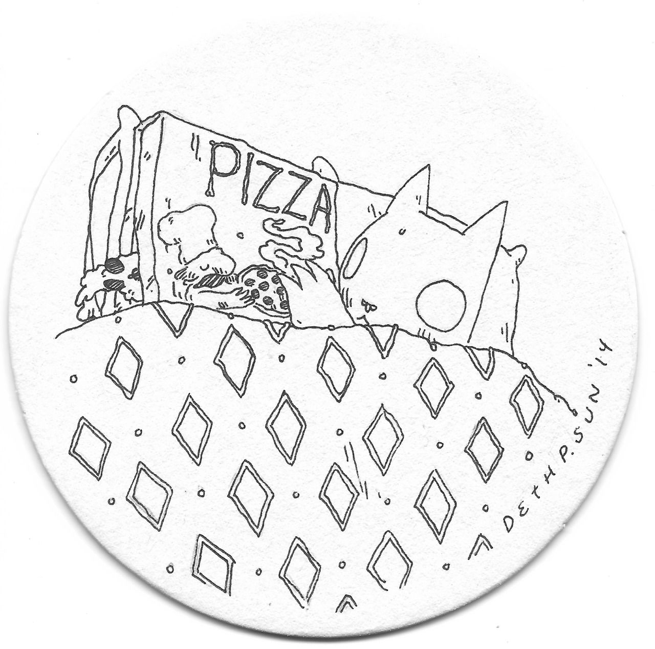 Coaster Drawings