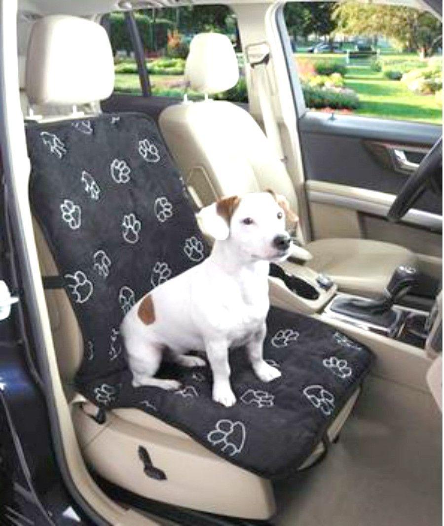 Pawprint Single Seat Car Seat Cover Pet Car Seat Diy Dog Stuff Car Seats
