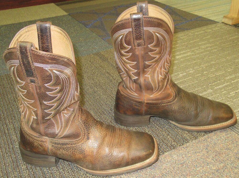 Ariat Mens Hybrid Rancher Western Cowboy Boot