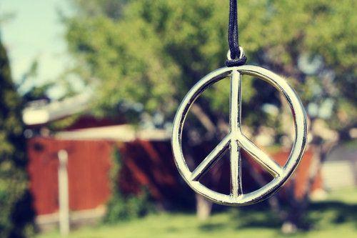 Peace.....I Love My Peace.
