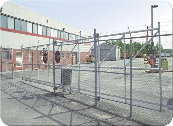Cantilever slide gate fence all yard pinterest