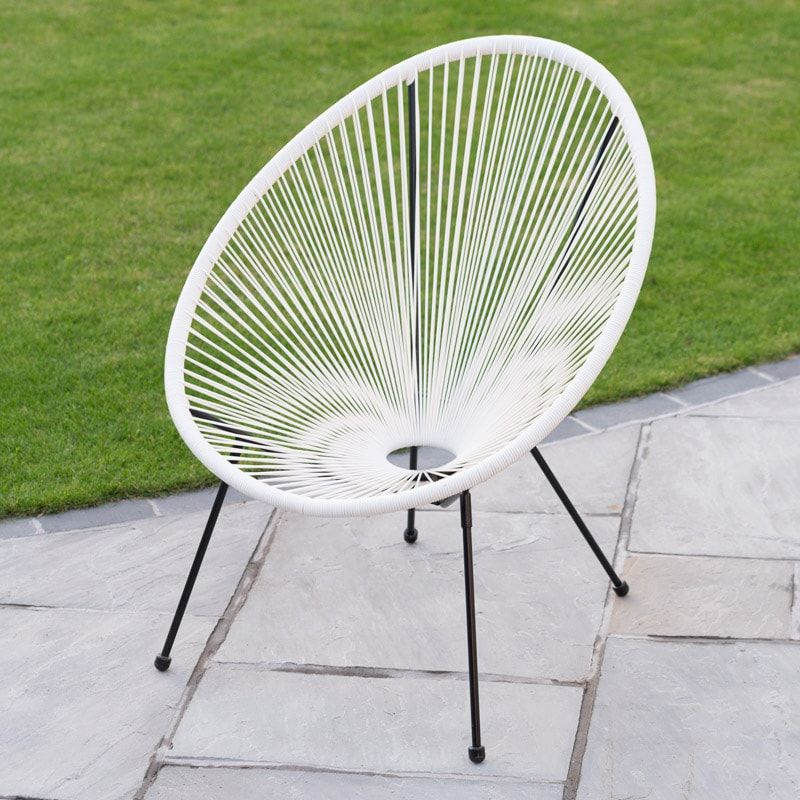Moon Chairs For Adults Wedding Hall String Chair This Funky Modern Will Add A Touch Of Fun And Comfort To Your Garden Or Home Buy Furniture At B M Stores In The Uk