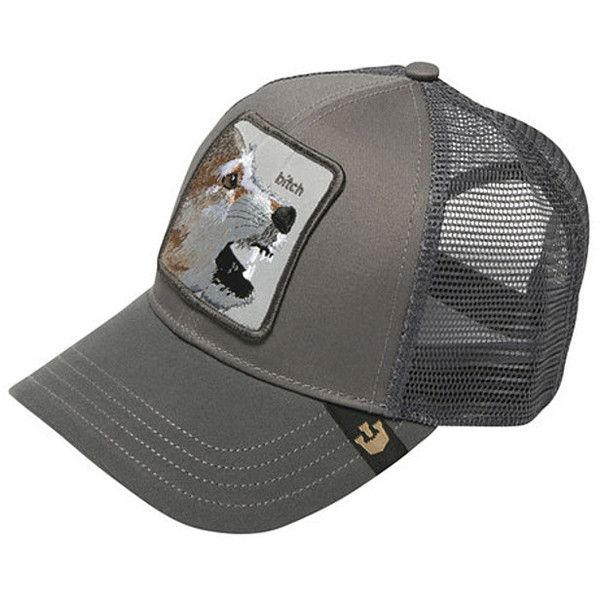 fed6c70a87dc6 Goorin Brothers Animal Farm Trucker Hat - Wild Collection (225 ZAR) ❤ liked  on Polyvore featuring accessories