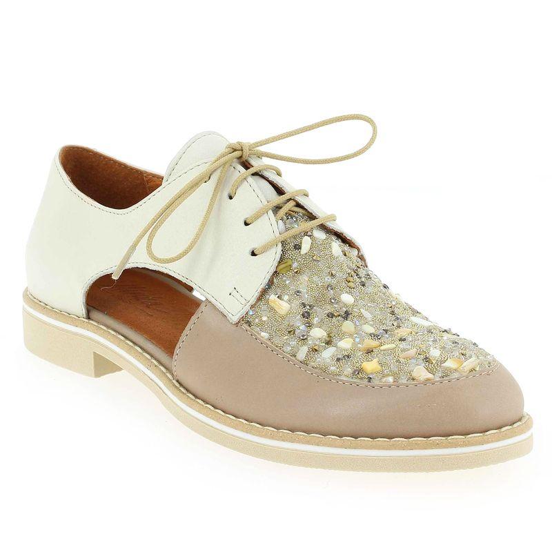 Chaussure Minka modèle KILIAN, Beige  - vue 0