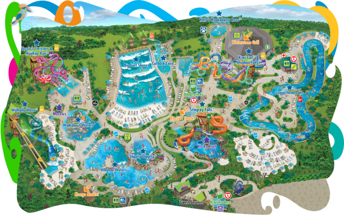 Aquatica Map Family Vacation Spots Family Vacations In Texas Family Road Trip Packing