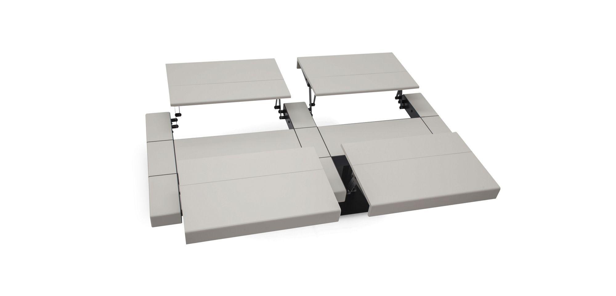 Table Basse En Medium Laque Nombreux Coloris Disponibles Avec Mecanisme Pour Ouverture Des 4 Cotes A Utiliser Comme Tablette Hauteur Ouv Mobilier Table