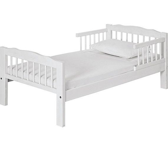 Best Buy Antique Pine Toddler Bed Frame White At Argos Co Uk 400 x 300