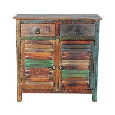 Hardwood Sideboard Reclaimed, Creative Co Op Furniture