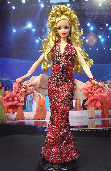 Barbie Miss Faroes ninimomo 2007/2008