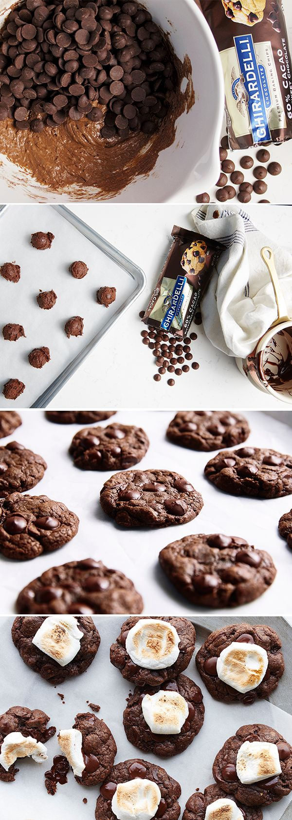 Everyone's favorite hot drink for cold days, now a cookie! Our Ghirardelli 60% Cacao Baking Chips are the #SweetestSecret of holiday desserts that dazzle & delight.