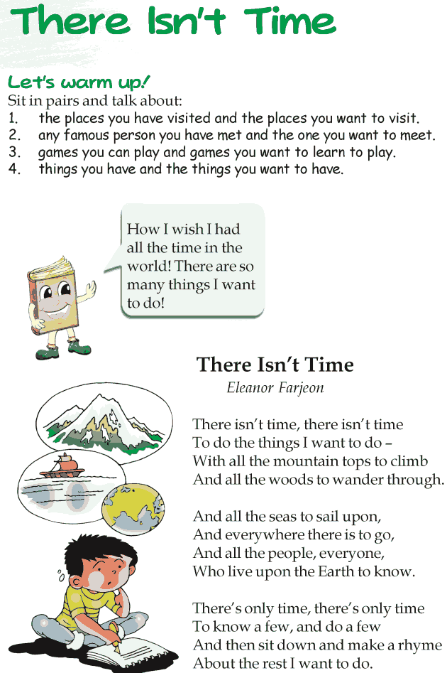 Printable Worksheets grade 3 reading worksheets : Grade 3 Reading Lesson 19 Poetry – There Isn't Time | short ...